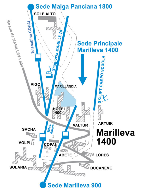 Cartina 1400.Where We Are Scuola Sci E Snowboard Marilleva